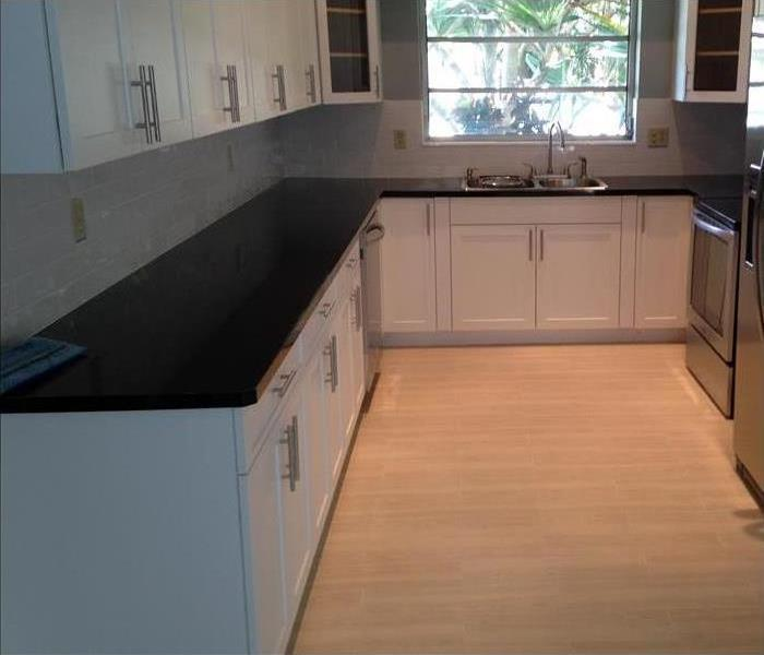 Kitchen Dried and Remodeled  After