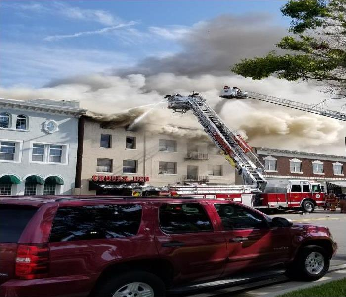 Daytona Beach Commercial And Residential Fire Damage Cleanup