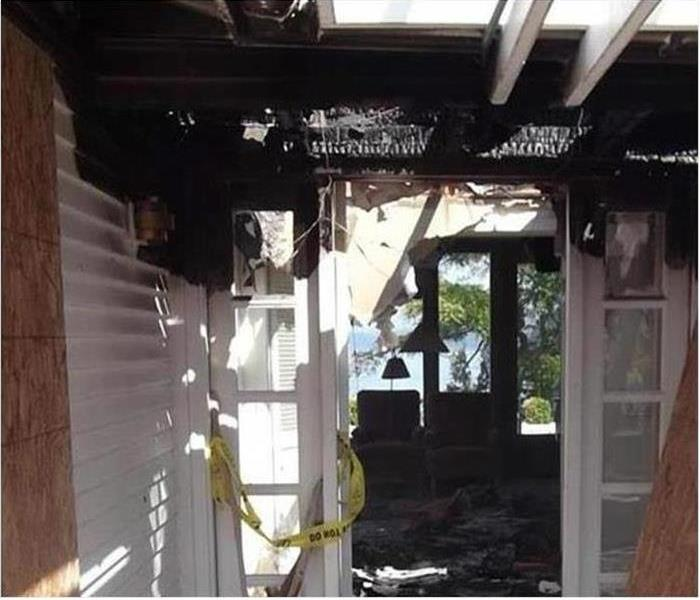 Fire Damage Our IICRC Trained Professionals Restore Your Ormond Beach Home After A Fire