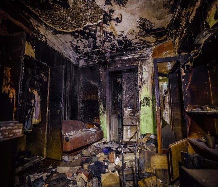 Fire Damage After A Fire Has Damaged Your Daytona Beach Home, Call Our Specialists For Help!
