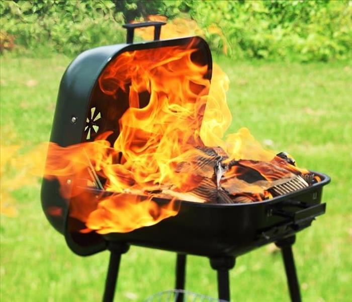 Fire Damage Grilling Accidents can Lead to Fire Damage on Your Daytona Beach Home's Patio