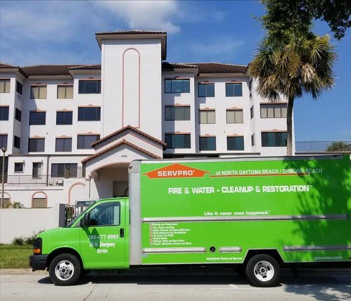 Commercial Ormond Beach Hospitality Enterprises Often Rely on SERVPRO for Water Damage Restoration and Mitigation