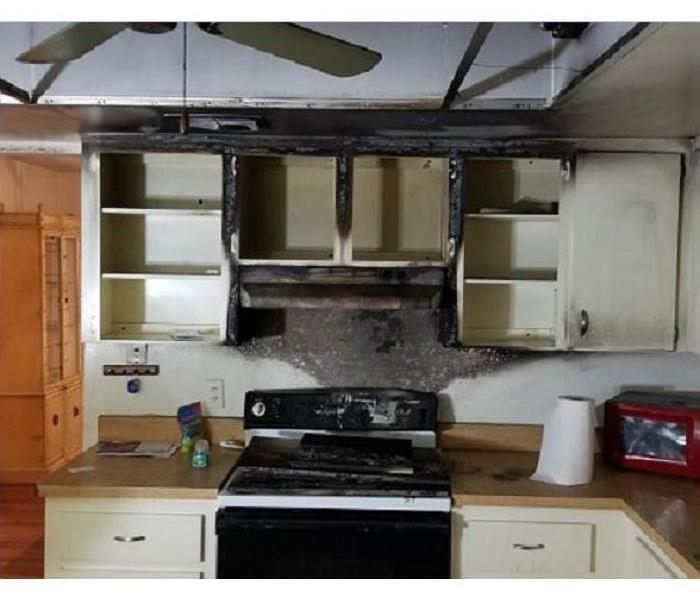 Bright House Ormond Beach Fl: Kitchen Fire Stove Damage Info. Dryer Fire, Ceiling Fan
